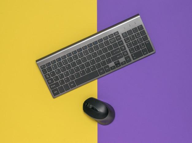 キーボードとマウスの画像